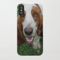 the hound iPhone & iPod Cases featuring Hound by RaviusKiedn