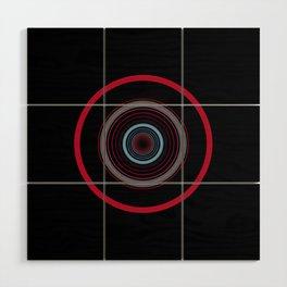 orbital 8 Wood Wall Art