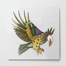 jewel eagle white Metal Print