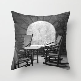 Black & White (2 of 7) Throw Pillow