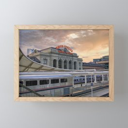 Union Station - Denver, Colorado Part II Framed Mini Art Print