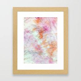 Abstract romantic dream Framed Art Print