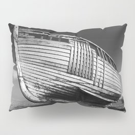 A Lonely Boat Pillow Sham