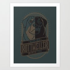Awesome Breed : ROTTWEILER Art Print