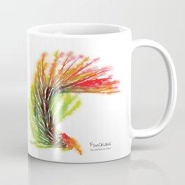 Tillandsia Funckiana Air Plant Watercolors Coffee Mug