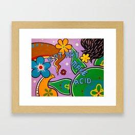 eat art Framed Art Print