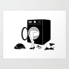 Washing Bad Memories Art Print