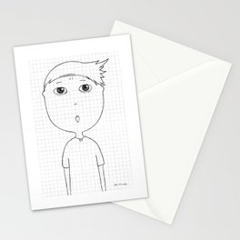 My imaginary friend_012 Stationery Cards