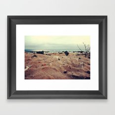 Nothing to see Framed Art Print