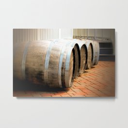 Pretty Barrels in a row  Metal Print