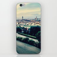 florence iPhone & iPod Skins featuring Florence by Rachel Weissman