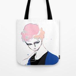 Glass Eyed Boy Tote Bag