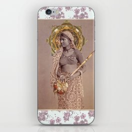 Woman from Bengal iPhone Skin