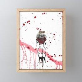 Red Dream Framed Mini Art Print