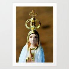 Holy Mary Art Print