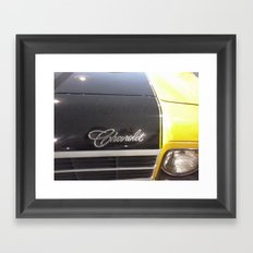 SS Chevrolet Framed Art Print