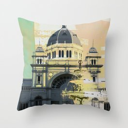 Exhibition Building Throw Pillow