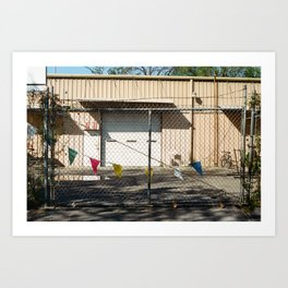 Party Fence Art Print