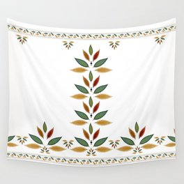 """""""Tree of Polka Dots Leaves"""" Wall Tapestry"""