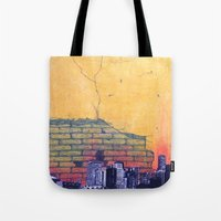 denver Tote Bags featuring denver by Saari Shelhart