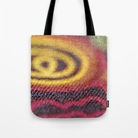 stained glass Tote Bags featuring Stained Glass by Stephen Linhart