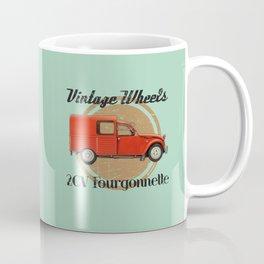 Vintage Wheels: Citroën 2CV Fourgonnette Coffee Mug