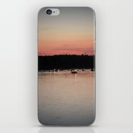 Lights on the water iPhone Skin