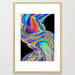 VISION OF DIVISION Framed Art Print