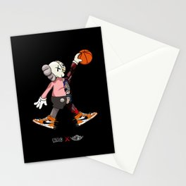Kaws X Art Jordan 1 poster Stationery Cards
