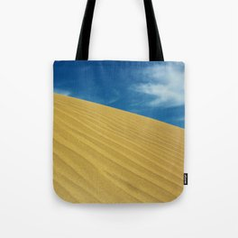 Waves Of Sand Tote Bag
