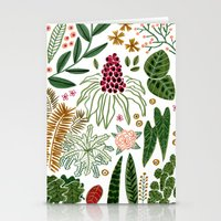 plants Stationery Cards featuring Plants by Roxanne Bee