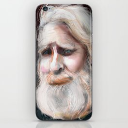 The Sad Captain iPhone Skin