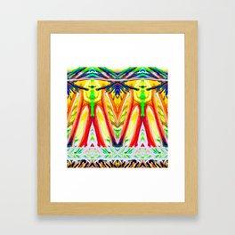 Tropical Sunset Duo Framed Art Print