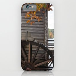 Fall Mill iPhone Case