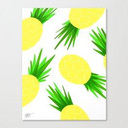 Pineapple Palooza Canvas Print