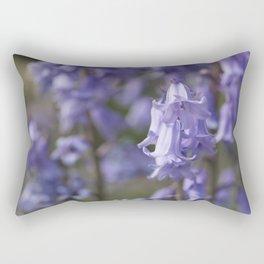 The Bluebell Patch Rectangular Pillow