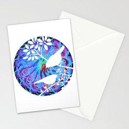 Japanese birds Stationery Cards