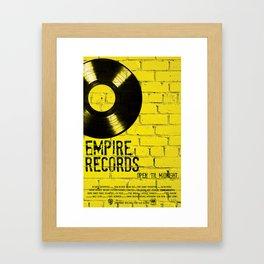 Empire Records Framed Art Print