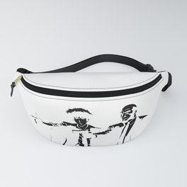 Cowboy Bebop - Spike Jet Knockout Black Fanny Pack