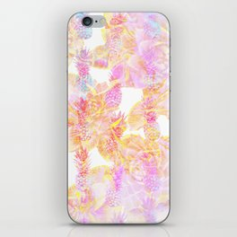 Abstract Pastel Pineapple iPhone Skin
