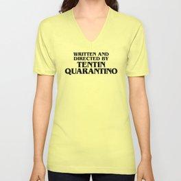 Tentin Quarantino Unisex V-Neck