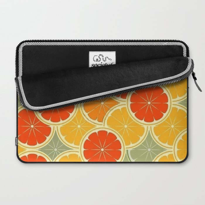 Summer Citrus Slices Laptop Sleeve