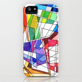 Abstract 10 iPhone Case