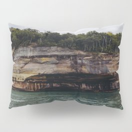 Pictured Rocks I Pillow Sham