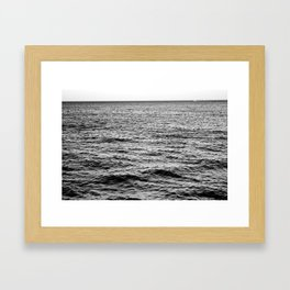 Going With The Flow Framed Art Print