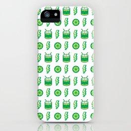 Limes'n Drums Kawaii Tropical iPhone Case