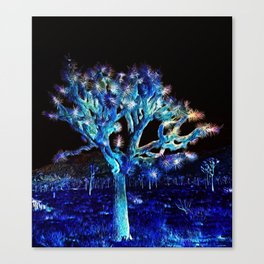 Joshua Tree VG Hues by CREYES Canvas Print