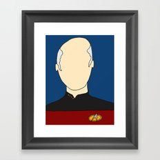 O Captain! My Captain! Framed Art Print