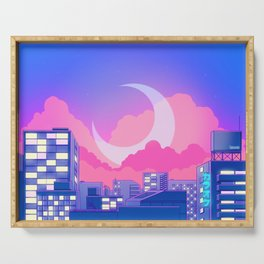 Dreamy Moon Nights Serving Tray