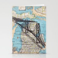 michigan Stationery Cards featuring Michigan by Ursula Rodgers